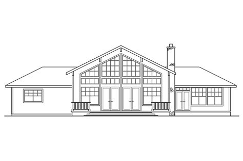 house plans for view lots craftsman house plans heartford 10 420 associated designs
