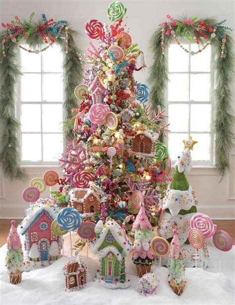 gingerbread themed trees the most colorful and sweet trees and decorations you seen architecture