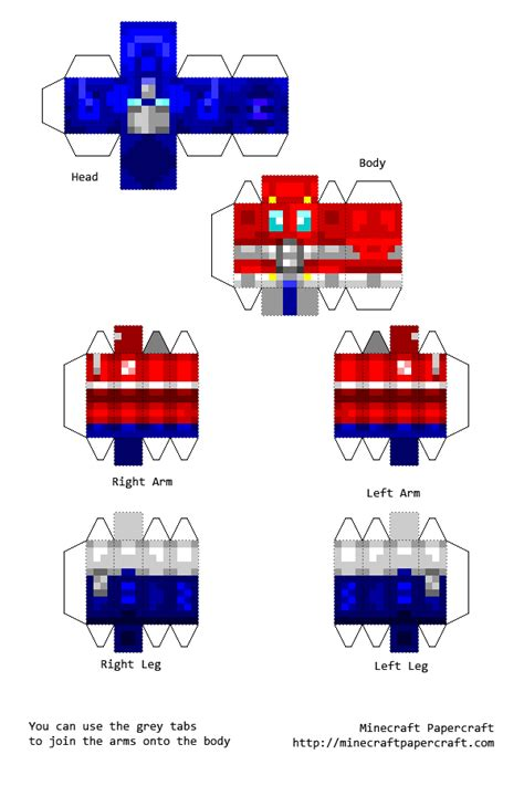 Optimus Prime Papercraft - papercraft optimus prime by toxicwastertheseeker on