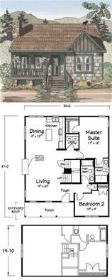 Cute Floor Plans Tiny Homes Pinterest Cabin Small Small House And Cottage Plans