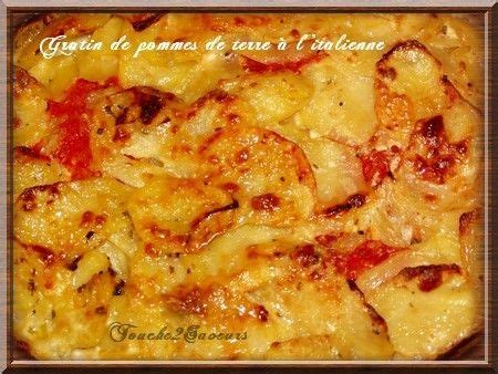 Pomme De Italienne by Gratin De Pommes De Terre 224 L Italienne Accompagnemts