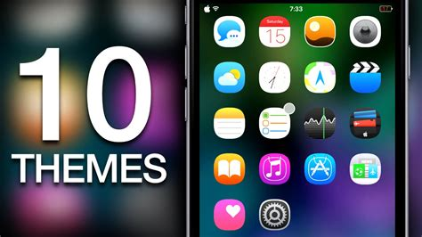 themes for iphone using cydia new top 10 best ios 9 ios 8 cydia winterboard themes for