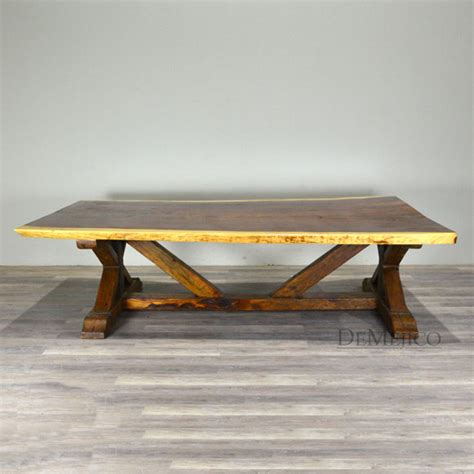 Barn Style Dining Table by Live Edge Barn Table Barn Style Dining Tables Live Edge