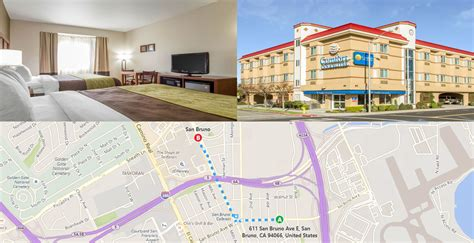 comfort inn sf hotels near san bruno bart hotels near san francisco