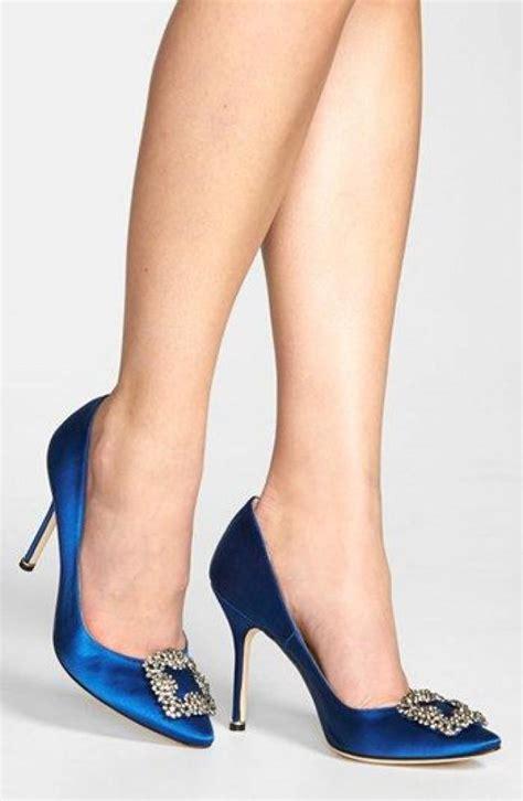 Carrie Bradshaw Hochzeit Schuhe by Hochzeits Thema Manolo Blahnik Hangisi Quot Jeweled