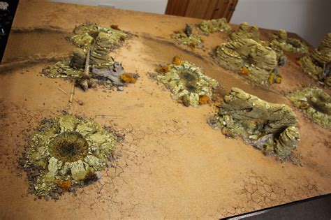 Warhammer Battle Mat by Orks Eldar And Sands Of Time Bols Gamewire