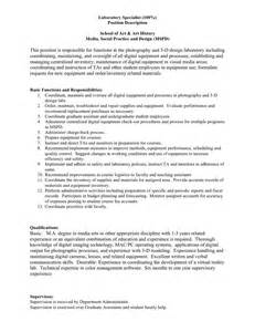 Description Of A Photographer by Scad Photography Department News Entry Level Lab Tech Position For Mfa