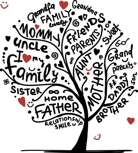 family gathering design vector 20 vector family tree images family tree vector art