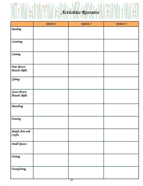 printable lesson plans for two year olds 10 pages of free printables great resource for planner