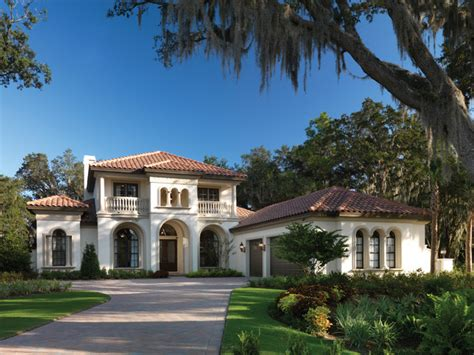 florida luxury home plans gulfport 1093 mediterranean exterior ta by