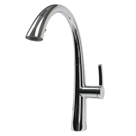 chrome kitchen faucet grohe concetto single handle pull sprayer kitchen