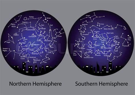 sternbilder der noerdlichen und suedlichen hemisphaere