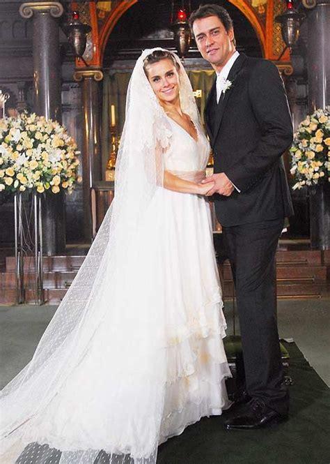 Dress Novela carolina dieckmann wears this wedding dress in the