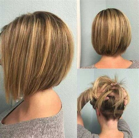 rear view of long blunt bob ziemlich kurzen bob frisuren 2016 neue frisur stil
