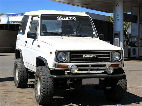 daihatsu rocky offroad 4x4 answerman truck and suv off road tech off road com