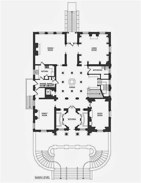 homes mansions le petit trianon  san francisco ca architectural floor plans beautiful