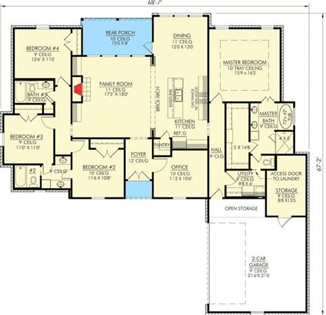 nhd home plans 1000 ideas about 4 bedroom house on pinterest 4 bedroom house plans house floor plans and