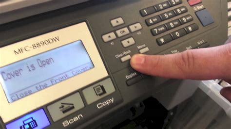 resetting brother printer to factory defaults brother mfc printer how to clear the brother low toner