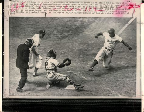 jackie robinson house pics for gt jackie robinson stealing home in color