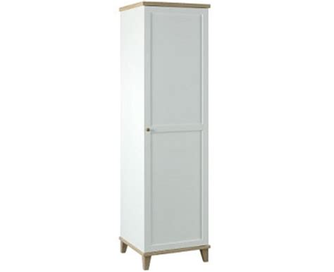 Single White Wardrobe Boston Wood Wardrobe