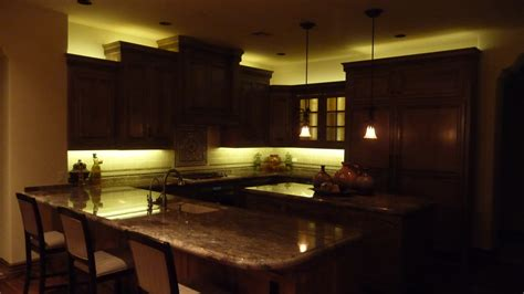 Lighting A Kitchen Above Cabinet Lighting Ideas Bar Cabinet