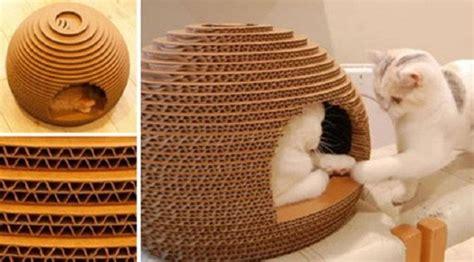 membuat rumah kucing dari kardus bekas 30 cara mudah membuat kerajinan tangan dari barang bekas