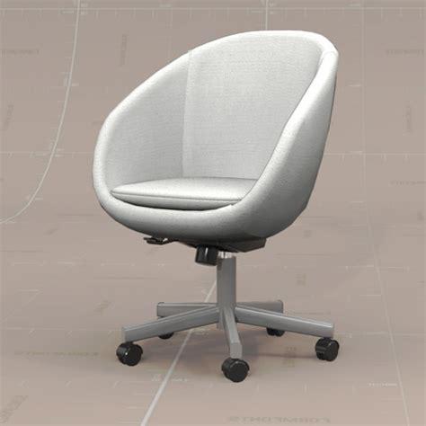 Skruvsta Swivel Chair by Skruvsta Swivel Chair 3d Model Formfonts 3d Models
