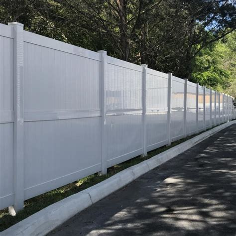vinyl privacy fence augusta weatherables
