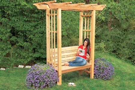 garden bench with arbor 39 diy garden bench plans you will love to build home and gardening ideas