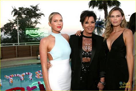 how is erin foster related to the jenners kendall jenner mom kris step out at amazon prime summer