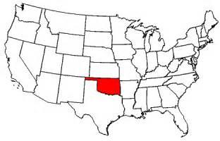 united states map of oklahoma oklahoma maps map of oklahoma
