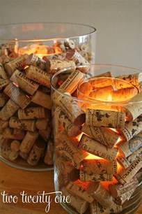 Large Wine Glass Vase 15 Creative Diy Wine Cork Christmas Decorations