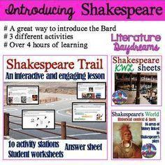 themes of jacobean literature teaching shakespeare bundle shakespeare language and