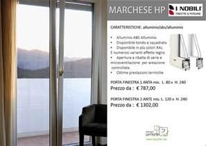 finestra alluminio prezzo serramenti in alluminio prezzi linea marchese hp i nobili