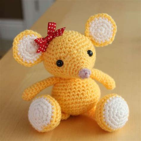 amigurumi patterns easy free free amigurumi mouse pattern wixxl