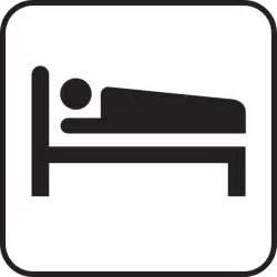 bed symbol hotel motel sleeping accomodation clip art at clker com