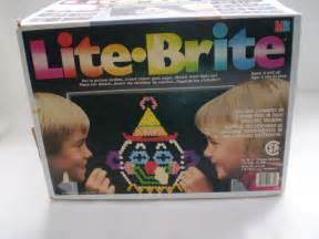 Original Light Bright classic lite brite original box pegs and more by bizzard