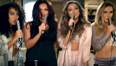 hair download little mix little mix throw a sexy slumber party in new music video