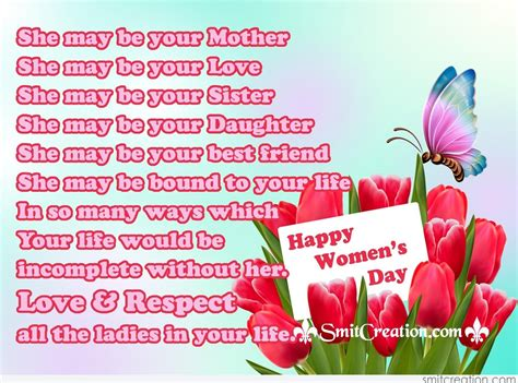 day messages for happy womens day images 2017