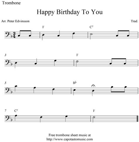 printable happy birthday sheet music alto sax trombone sheet music happy birthday sheet music scores