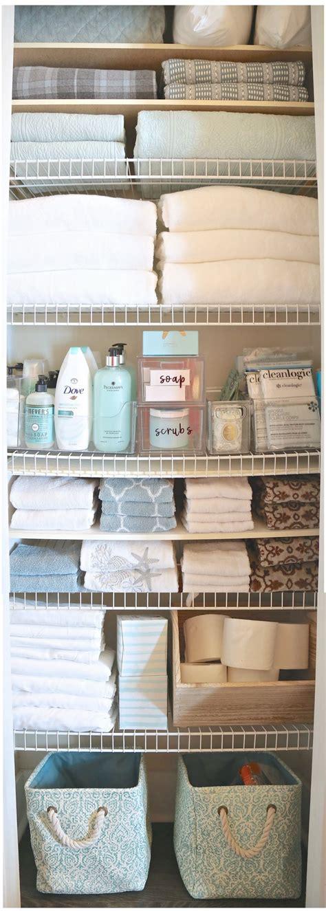 creative bathroom storage ideas linen closets cabinets linen closet organizing create more storage
