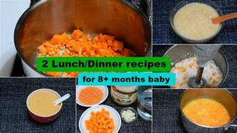Kitchen Dinner Ideas 2 lunch dinner recipes for 8 months baby l healthy baby