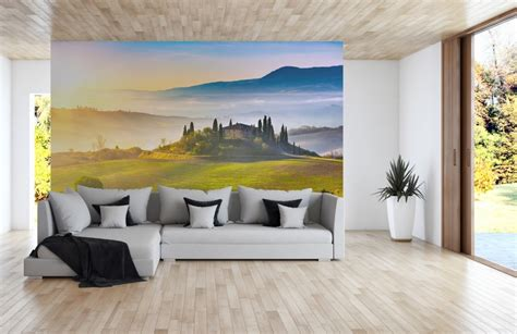 pixers wall murals nature inspired eye deceiving wall murals to make your home look bigger freshome