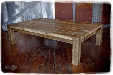 4x4 coffee table large coffee table made using reclaimed barn wood top is
