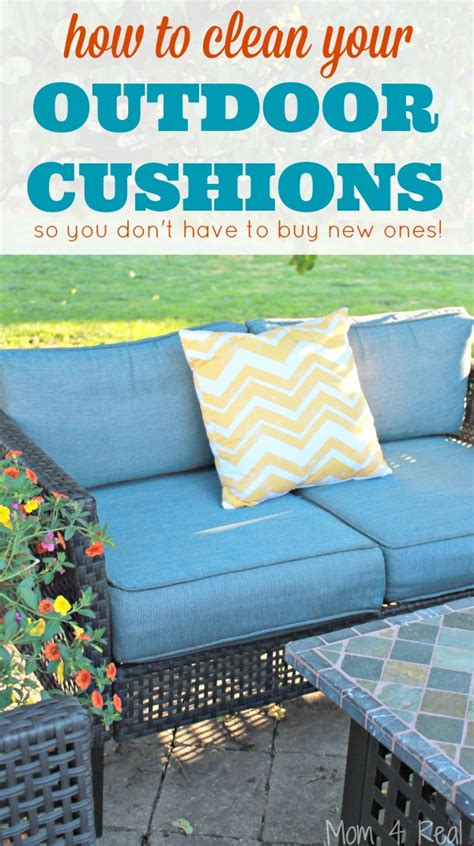 How To Clean Patio by How To Clean Outdoor Cushions And Save Your Money 4 Real