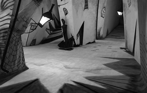 Cabinet Of Dr Caligari Analysis by World Of Light And Shadow German Expressionism And Its