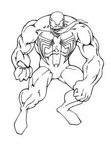 spiderman venom coloring pages az coloring pages