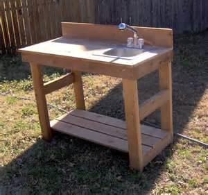 cedar potting bench brand new 4 foot cedar potting bench with sink free shipping
