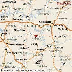 smithville map smithville tennessee