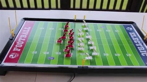 electronic table football review zone electric football by tudor a